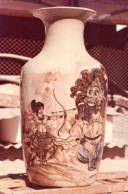lukisan keramik 1