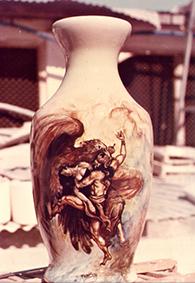 lukisan keramik 2
