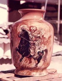 lukisan keramik 3