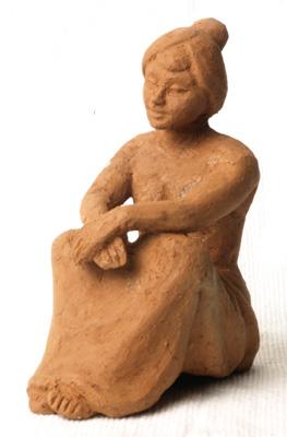 Hasil bakar Tungku Mini Terracotta