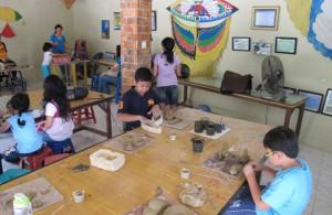 Ruang belajar museum layang-layang