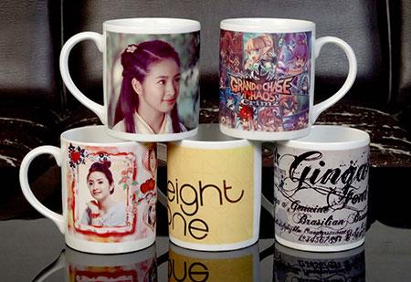 Mug Promosi menggunakan Kertas Decal