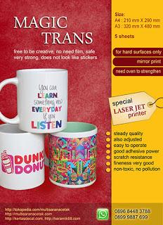 magic trans paper